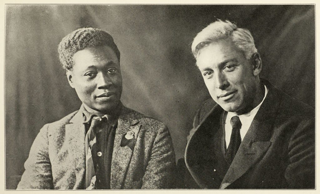 Claude McKay and Max Eastman